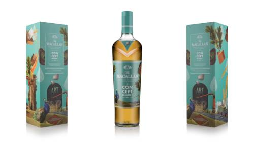 THE MACALLAN Concept Numéro 1 (Packaging)